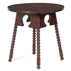 Early Gustav Stickley club table, #18