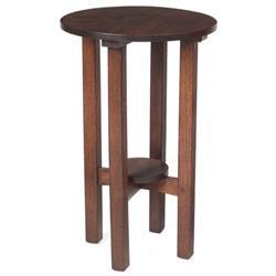 L & JG Stickley lamp table #560,