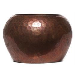 Dirk Van Erp vase, hammered copper