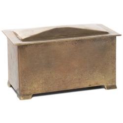 Marshall Field & Co. box, copper