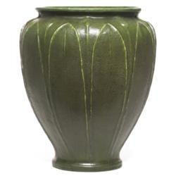 Grueby vase, large shouldered form