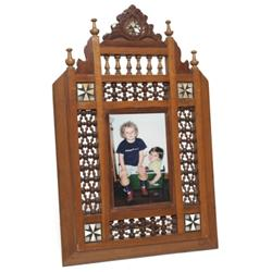 Aesthetic Movement frame mother of pearl