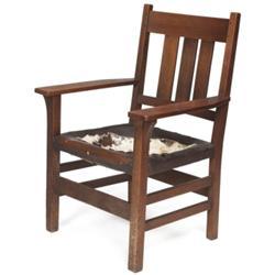 Gustav Stickley armchair, #350A