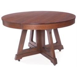 Prairie School dining table