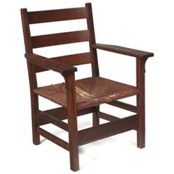 Gustav Stickley armchair, #310