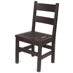 Gustav Stickley side chair, early form