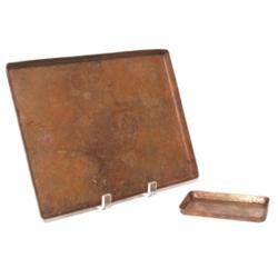 Dirk Van Erp tray, copper