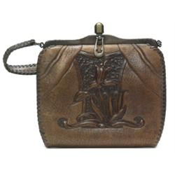 Arts & Crafts handbag, leather