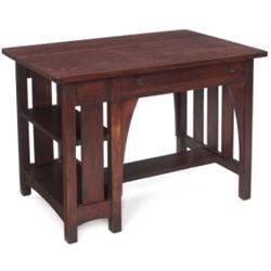 Limbert table, #105, single drawer
