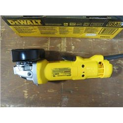 """DEWALT 4 1/2"""" PADDLE SWITCH SMALL ANGLE GRINDER"""