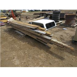 PALLET OF 1X6, ROUGH LUMBER 8' TO 10' APPROX 45PCS