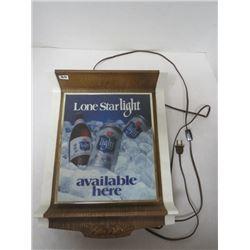 Lone Star Light sign