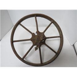 """16"""" steel wheel for wheel barrow"""