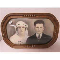 Vintage picture of Wedding 11¼ x 17½