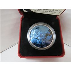 2007 $20 STERLING SILVER PLASMA COIN