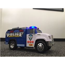 FRIDAY NIGHT! COLLECTOR TONKA TOYS POLICE AND FIRE TRUCK SELLING AS ONE LOT