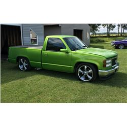 1990 CHEVROLET SHORT BOX CUSTOM SHOW TRUCK