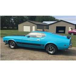 1973 FORD MUSTANG MACH I MATCHING NUMBERS ORIGINAL GEM
