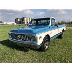 1972 CHEVROLET C10 CHEYENNE SUPER SPORT VERY RARE FACTORY OPTIONS