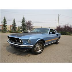 1969 FORD MUSTANG 390 S CODE 4 SPEED FASTBACK