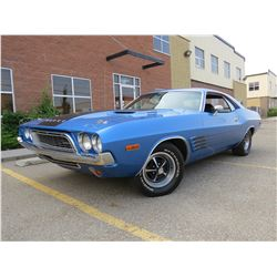 1972 DODGE CHALLENGER 340 B5 BLUE MATCHING NUMBERS