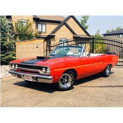 1970 PLYMOUTH ROADRUNNER CONVERTIBLE 383 AIR GRABBER BIG BLOCK
