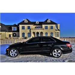 NO RESERVE 2012 MERCEDES BENZ E350