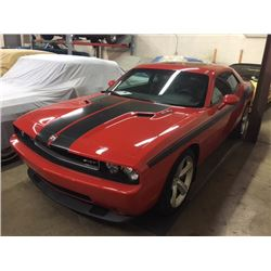 2009 DODGE CHALLENGER SRT8 ONLY 17709 KM