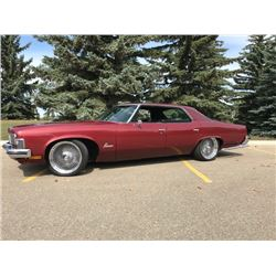 3:45PM CHARITY AUCTION 1973 PONTIAC PARISIENNE BROUGHAM VERY RARE PROCEEDS OF SALE TO KERYLUKE FAMIL
