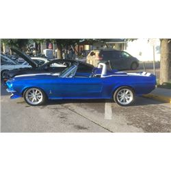 4:30PM SATURDAY FEATURE 1967 SHELBY CONVERTIBLE GT500 CUSTOM PRO TOURING RESTOMOD