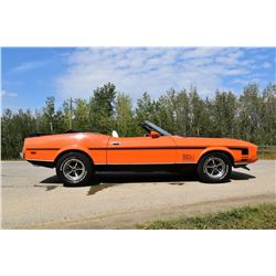 1973 FORD MUSTANG MACH I CONVERTIBLE