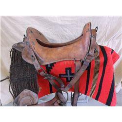 """McClellan Saddle- All Original- 12"""" Seat"""