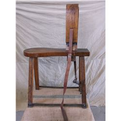"""Old Saddle Makers Stand- Everything Works- 27""""L X 10.5""""W X 41""""H"""