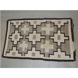 "Navajo Blanket- Damaged on End- 70""L X 43.5""W"