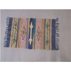 """Mexican Blanket- Good Condition- 48""""L X 28""""W"""