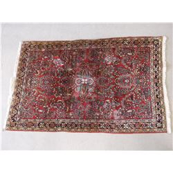 "Persian Rug-Handmade- Good Condition- 65""L X 41""W"