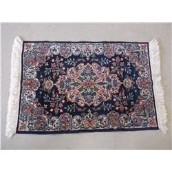 """Small Persian Rug- Made in Iran- Good Condition- 38.5""""L X 23.5""""W"""