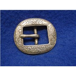 Marked F Schultz USA Sterling Buckle