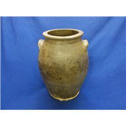 "Civil War Era Crock Pot- Bottom Has Been Repaired- 16""H X 11""W"