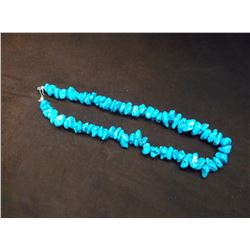"""Turquoise Necklace- 11"""""""