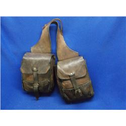 """Unmarked Saddle Bags- 9""""H X 7""""W"""