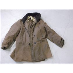 """Frontier Coat- Rough Condition- Woodward Outdoor Clothing- 36""""L"""