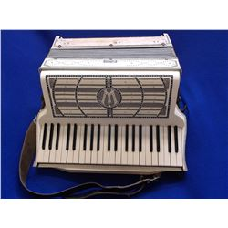 Wurlitzer Accordion- Made in America- Harness- Case- Sounds Good- Extra Parts