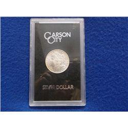 1882 Carson City Uncirculated Morgan Silver Dollar- GSA Cased