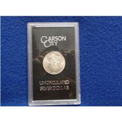 1884 Carson City Uncirculated Morgan Silver Dollar- GSA Cased