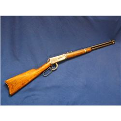 """Winchester Model 94 Saddle Ring Carbine- .30 WCF- Adjustable Sights- 20"""" Barrel- Crescent Butt Plate"""