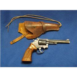 "Smith and Wesson Revolver- .22- K Frame 22- 6"" Barrel- All Original- Holster- #88932"