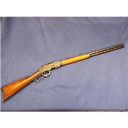 """Winchester Model 1873 Rifle- .38-40- 24"""" Octagon Barrel- Crescent Butt Plate- Gun was Re-Blued"""