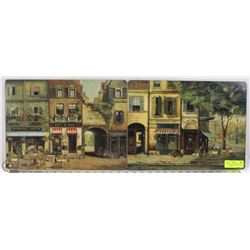 2 PIMPERNAL HARDBOARD SCENES OF CAFE PARIS