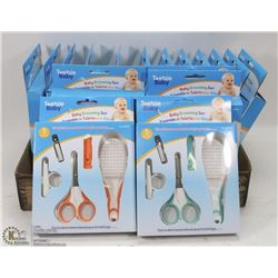 FLAT OF NEW BABY GROOMING KITS